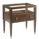 Lexington Tower Place Copley Nightstand in Walnut Brown Arlington Finish 01-0706-622