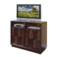 Acme Travell Home Entertainment TV Console in Walnut 20527