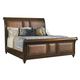 Tommy Bahama Home Landara Palmera Queen Sleigh Bed in  Rich Tobacco Finish 01-0545-189C