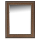 Tommy Bahama Home Landara Barons Cove Mirror in Rich Tobacco 01-0545-205