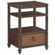 Tommy Bahama Home Landara Seacliffe Night Table in Rich Tobacco Finish 01-0545-622