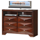 Acme Windsor Contemporary TV Console in Merlot 21927