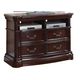 Acme Veradisia Home Entertainment TV Console in Dark Cherry 20638