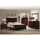 Acme Amaryllis Button Tufted Panel Bedroom Set in Cherry