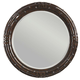 Tommy Bahama Home Island Traditions Newbury Round Mirror in Warm Aged Brass Finish 01-0548-201