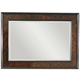 Tommy Bahama Home Island Traditions Somerton Landscape Mirror in Warm Aged Brass Finish 01-0548-205