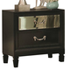 Coaster Devine 2-Drawer Nightstand in Black 203122