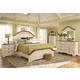Coaster Oleta 4-Piece Panel Bedroom Set in Buttermilk