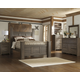 Juararo 4pc Poster Bedroom Set in Dark Brown