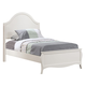 Coaster Dominique Full Youth Panel Bed in White 400561F