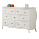 Coaster Dominique 7-Drawer Youth Dresser in White 400563