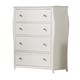 Coaster Dominique 4-Drawer Chest in White 400565