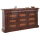 Coaster Grand Prado 12-Drawer Dresser in Brown Cherry 202203