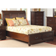 Coaster Hannah California King Sleigh Storage Bed in Brown Cherry 200831KW