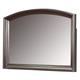 Coaster Hannah Dresser Mirror in Brown Cherry 200834