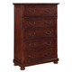 Coaster Hannah 5-Drawer Chest in Brown Cherry 200835