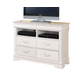 Acme Classique Home Entertainment TV Console in White 30133