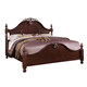 Acme Gwyneth Queen Poster Bed in Cherry 21860Q