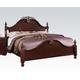 Acme Gwyneth King Poster Bed in Cherry 21857EK