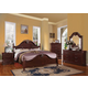 Acme Gwyneth Poster Bedroom Set in Cherry