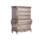 Acme Chantelle Old World Style Chest of Drawers in Antique Platinum 20546  PROMO