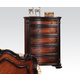 Acme Le Havre Traditional Five Drawer Chest in Two-Tone Brown 22406