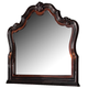 Acme Le Havre Traditional Landscape Mirror in Two-Tone Brown 22404