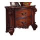Acme Vendome Traditional Two Drawer Nightstand in Cherry 22003 SPECIAL