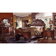 Acme Vendome Panel Bedroom Set with Button Tufted Headboard in Cherry