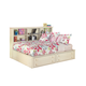 Cottage Retreat Twin Bookcase Bed w/ Storage Footboard