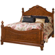 New Classic Charise California King Panel Bed in Cocoa 00-074-2KW