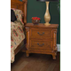 New Classic Charise 2 Drawer Nightstand in Cocoa 00-074-040