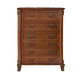 New Classic Charise 5 Drawer Chest in Cocoa 00-074-070