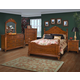 New Classic Charise 4-pc Panel Bedroom Set in Cocoa