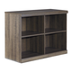 Ashley Juararo Loft Bookcase in Dark Brown B251-17