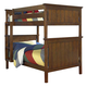 New Classic Sawmill Twin/Twin Bunk Bed in Cocoa 05-054-5B