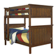 New Classic Sawmill Twin/Full Bunk Bed in Cocoa 05-054-5F