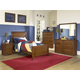 New Classic Sawmill 4-Piece Panel Bedroom Set in Cocoa