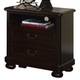 New Classic Canyon Ridge 2 Drawer Nightstand in Chestnut 05-230-042