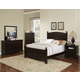 New Classic Canyon Ridge 4-pc Panel Bedroom Set in Chestnut