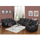 Acme Dacey Bonded Leather Living Room Set in Espresso
