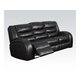 Acme Dacey Bonded Leather Sofa with Motion in Espresso 50740