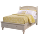 Aspenhome Cambridge Twin Panel Storage Bed in Eggshell