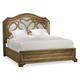 Hooker Furniture Solana Mirrored Panel King Bed 5291-90266