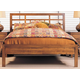 Durham Furniture Lodo Queen Asian Bed with Low Panel Footboard 358-120S-LODO