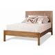 Durham Furniture Lodo King Panel Bed with Low Panel Footboard 358-141Q-LODO