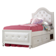 Legacy Classic Kids Madison Upholstered Twin Bed w/ Underbed Storage