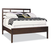 Durham Furniture Soma Queen Asian Bed with Low Panel Footboard in Lodo 258-120S-SOMA