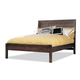 Durham Furniture Soma King Panel Bed with Low Panel Footboard 258-141Q-SOMA
