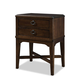 Durham Furniture Glen Terrace 2-Drawer Nightstand 131-202-NVBR